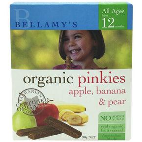 Bellamy's 贝拉米 婴幼儿辅食 苹果香蕉梨手指饼 90g 11.6元(9.8+1.8)