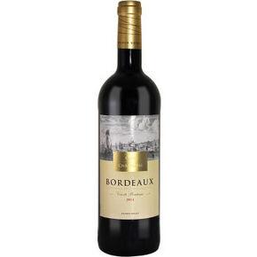 莎桐湾 波尔多之路 干红葡萄酒 750ml 25元