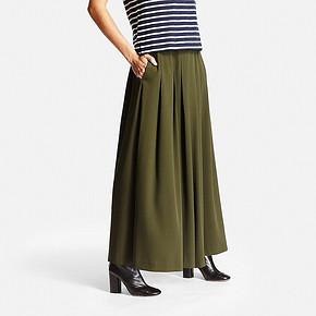 UNIQLO 优衣库 181268 女士宽腿喇叭裤  99元