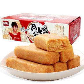 吃货最爱# 盼盼 肉松饼条 1020g 折22.3元(31.9,3件7折)