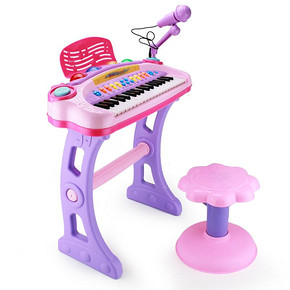 儿童37键电子琴套装 66元包邮