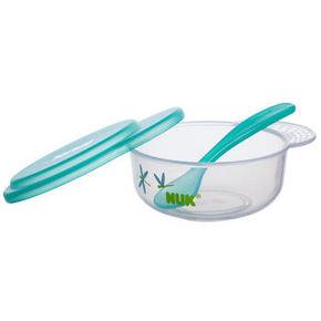 NUK 宝宝碗勺餐具套 绿色 9.9元