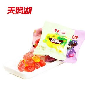 天鹅湖 纤果果味软糖QQ糖 500g  12.5元包邮