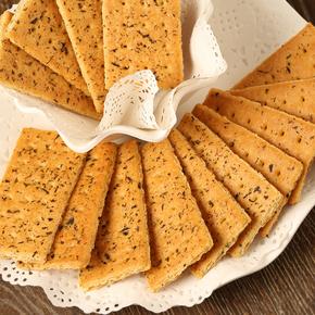 半球纳豆海苔味饼干 450g 9.9元包邮