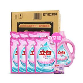 立白 洗护合一 7斤洗衣液+101g内衣皂+空瓶 28.9元