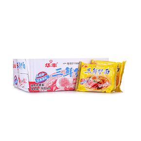 华丰 经典三鲜伊面 78g*24袋/箱 19.9元