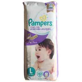 日本 pampers 帮宝适 紫帮 特级棉柔纸尿裤 L40片 74.5元(66+8.5)