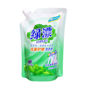 绿漂 抗菌护理洗衣液 2kg  8.9元