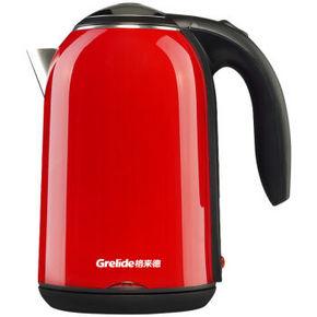 格来德 Grelide 电水壶304不锈钢PTC保温双层防烫1.7升 49元
