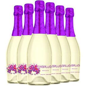西班牙进口 爱如·蝶之语甜白起泡葡萄酒 750ml*6瓶 99元包邮