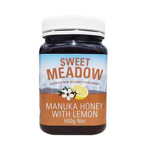 Sweet Meadow 天然麦卢卡柠檬蜂蜜 500g 86.1元