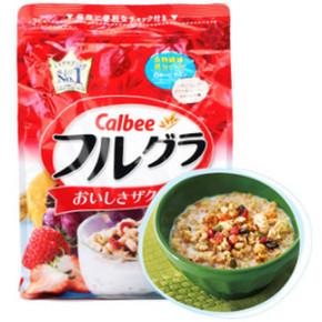 Calbee卡乐比 水果颗粒营养麦片 800g 46元包邮