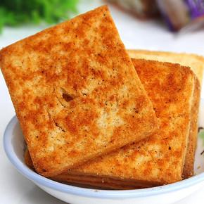 早餐香烤馍片 多种口味 500g 7.8元包邮