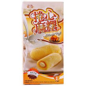 Royal Family 皇族 捲心麻薯地瓜牛奶150g 4.9元
