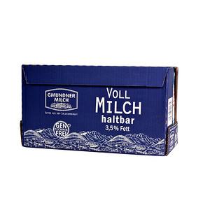 奥地利进口 格梦顿 全脂纯牛奶1L*12盒 69元