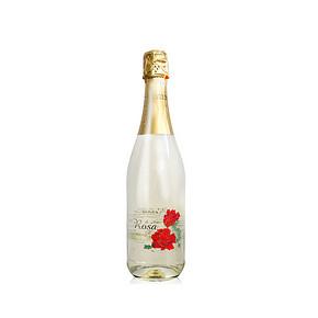 小酌怡情# 西班牙进口 爱之玫瑰起泡 葡萄酒 750ml 19.9元