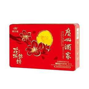 广州酒家 利口福花城锦绣月饼 393g*2盒 88元(2件5折)