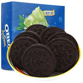 奥利奥 冰淇淋夹心饼干 抹茶味 318g 折9.8元(18.1,99-50券)