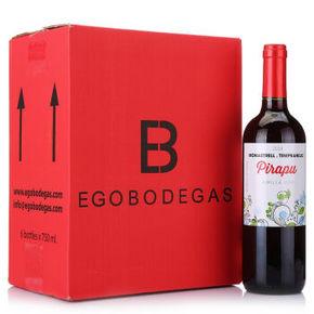 西班牙进口 帕普 干红葡萄酒 750ml*6瓶 99元包邮
