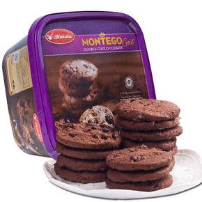 印尼 kokola 可可乐 曲奇饼干 巧克力味 225g 18.8元