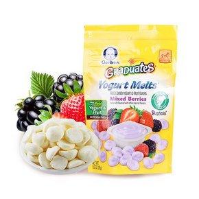 嘉宝 混合水果味酸奶小溶溶豆 28g*7件 133.2元包邮(128选7+税-10券)