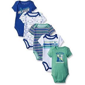 Tommy Hilfiger 男婴连体衣五件套 76.3元包邮(38.6+37.7)