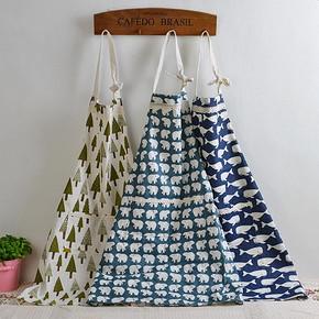 三角树 日式棉麻全棉麻围裙 8.8元包邮(拍下改价)