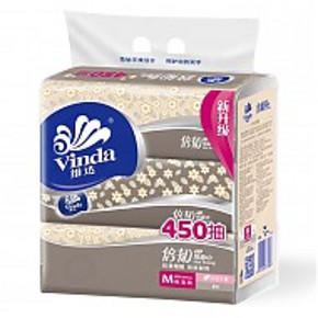 Vinda 维达 抽纸 倍韧2层150抽面巾纸*3包  折6.4元(12.9,199-100)
