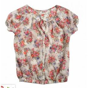 美特斯邦威 女子系带宽松衬衫 2元