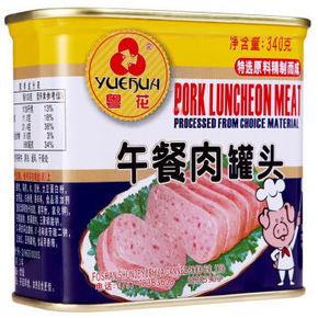 粤花 一级午餐肉 340g 9.9元