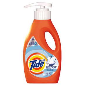 Tide 汰渍 全效360°手洗专用洗衣液 1kg 9.9元