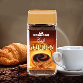 格兰特 金装速溶黑咖啡粉 50gx2瓶  38.8元(买1送1)