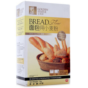 金像牌 面包用小麦粉 1kg 折11.8元(16.8,99-30)