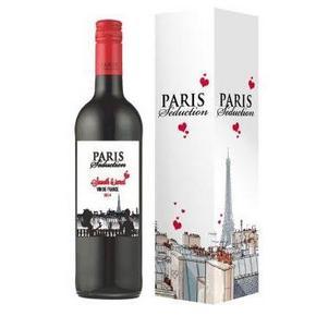 巴黎诱惑 甜红葡萄酒 750ml 19.9元
