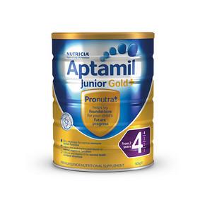 Aptamil 爱他美 婴幼儿奶粉 4段 900g 折107.3元(3件88折+税)