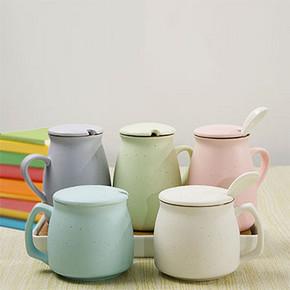 雅至工坊 陶瓷水杯牛奶杯 8.9元包邮