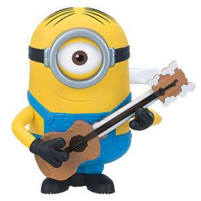 小黄人3 卑鄙的我 发条玩具弹吉他的斯图尔特 9.9元