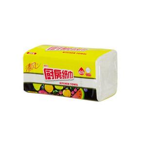清风 厨房用纸 随手擦 抽取式 200抽 折5.9元(11.8,199-100)