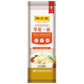限地区# 陈克明 面条 甄选玉米风味挂面 细面条 200g 1元