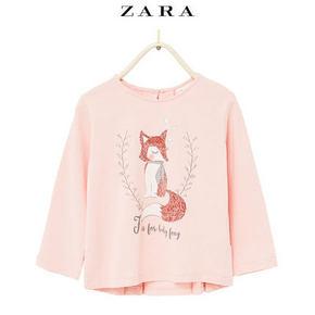 ZARA 童装动物图案T 恤 39元包邮
