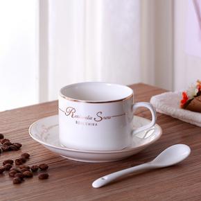 欧式陶瓷咖啡具套装 6.8元包邮