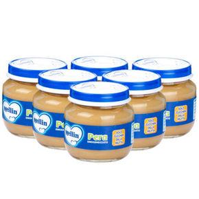 美林 婴儿辅食果泥 梨子泥 100gx6罐x2组 66.7元(买2免1+税)