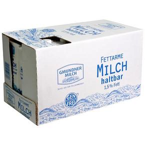 奥地利 格梦顿 部分脱脂纯牛奶1L*12盒 69元(109-40)