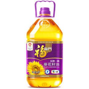 福临门 葵花籽油 4L 42.9元