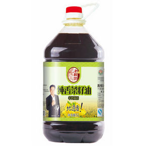 老榨坊 纯香菜籽油 非转基因 5L 49.9元