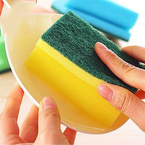 千嘉卫 厨房抹去污清洁洗碗布10片 8.5元包邮