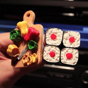 创意食物造型汽车香水  8.5元包邮