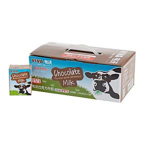 英国进口 韦沃巧克力牛奶200ml*12 折35.6元(188-100)