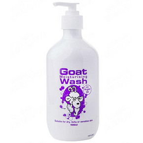 Goat Soap 山羊奶沐浴露 500ml*2瓶 44.4元(买2减1+税)