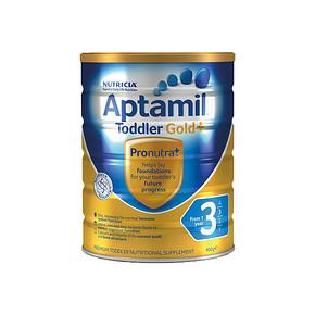 Aptamil 爱他美 3段婴儿奶粉金装 900g  99元(3件起售)